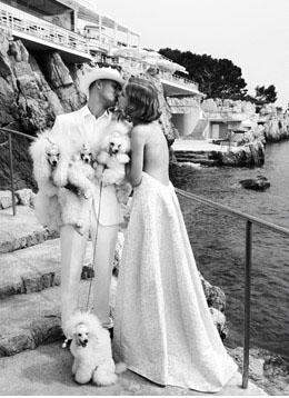 Groupe & Natalia Vodianova et son mari
