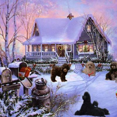 Joyeuses fêtes - Elevage Le Petit Lord